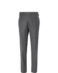 Мужские темно-серые шерстяные классические брюки от Kingsman