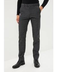 Мужские темно-серые шерстяные классические брюки от O'stin