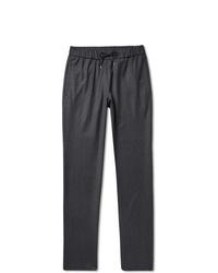 Мужские темно-серые шерстяные спортивные штаны от A.P.C.