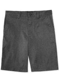Темно-серые шорты