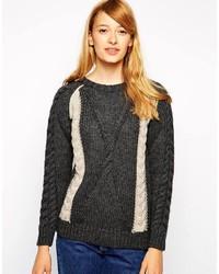 вязаный свитер medium 190820
