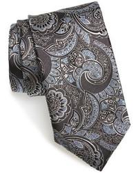 "Темно-серый галстук с ""огурцами"""