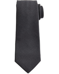 Темно-серый галстук