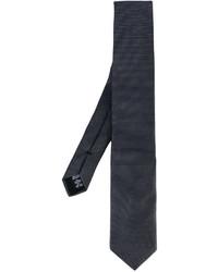 Мужской темно-серый галстук от Armani Collezioni