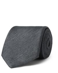 Мужской темно-серый галстук от Charvet