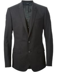 Темно-серый костюм-тройка от Dolce & Gabbana