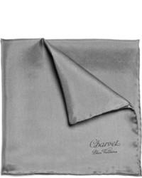 Темно-серый нагрудный платок
