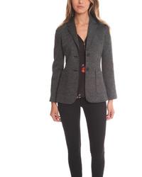 Женский темно-серый пиджак