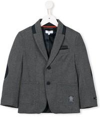 Детский темно-серый пиджак для мальчику