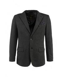 Мужской темно-серый пиджак от Alcott