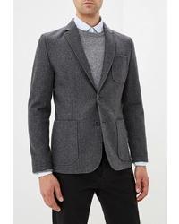 Мужской темно-серый пиджак от Bazioni