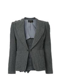 Женский темно-серый пиджак от Comme Des Garçons Vintage
