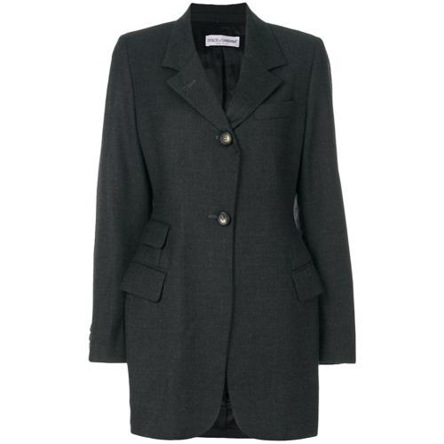 Женский темно-серый пиджак от Dolce & Gabbana Vintage