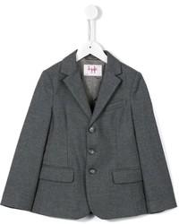 Детский темно-серый пиджак для мальчику от Il Gufo