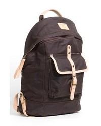 Темно-серый рюкзак из плотной ткани