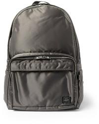 Мужской темно-серый рюкзак из плотной ткани
