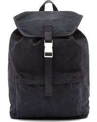 Мужской темно-серый рюкзак из плотной ткани от A.P.C.