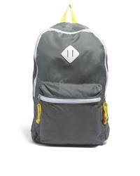 Мужской темно-серый рюкзак из плотной ткани от Asos