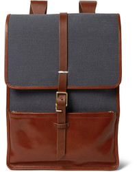 Мужской темно-серый рюкзак из плотной ткани от Miansai