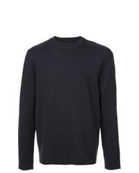 Мужской темно-серый свитер с круглым вырезом от Aztech Mountain