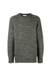 Мужской темно-серый свитер с круглым вырезом от Etro