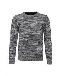 Мужской темно-серый свитер с круглым вырезом от Strellson