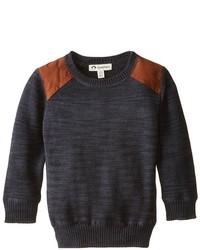 Темно-серый свитер