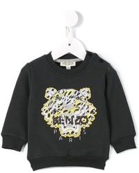 Детский темно-серый свитер для мальчику от Kenzo
