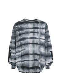 Мужской темно-серый свитшот с принтом от Amiri