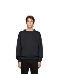 Мужской темно-серый свитшот от Lemaire
