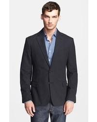Темно-серый хлопковый пиджак