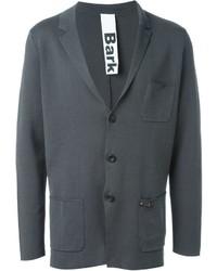 Мужской темно-серый хлопковый пиджак от Bark