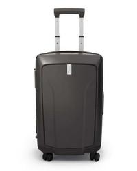 Темно-серый чемодан