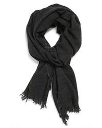 Темно-серый шарф