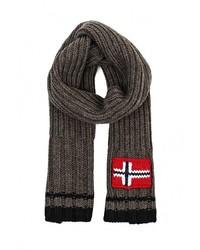 Мужской темно-серый шарф от Napapijri