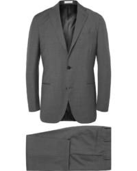 Темно-серый шерстяной костюм от Boglioli