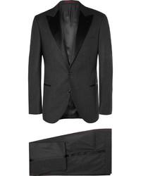 Темно-серый шерстяной костюм от Brunello Cucinelli