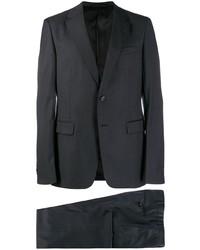 Темно-серый шерстяной костюм от Prada