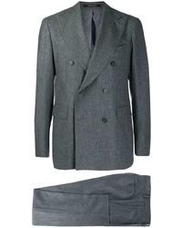Темно-серый шерстяной костюм от Tagliatore