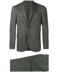 Темно-серый шерстяной костюм от The Gigi