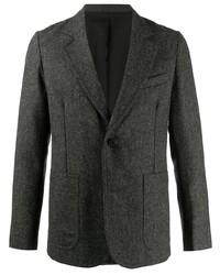Мужской темно-серый шерстяной пиджак от Ami