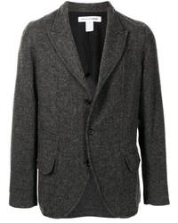 Мужской темно-серый шерстяной пиджак от Comme Des Garcons SHIRT