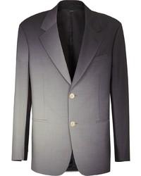 Мужской темно-серый шерстяной пиджак от Fendi