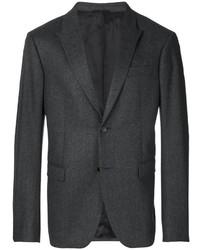 Мужской темно-серый шерстяной пиджак от Joseph