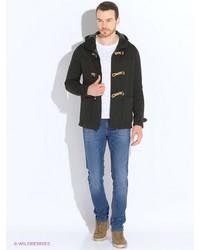 Мужское темно-синее длинное пальто от SPRINGFIELD