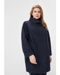 Женское темно-синее пальто от Electrastyle