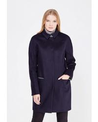 Женское темно-синее пальто от Gamelia