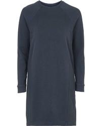 темно синее платье свитер original 10228006