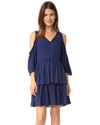 Темно-синее платье от Rebecca Minkoff