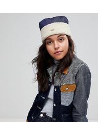 Женская темно-сине-белая шапка от Kangol